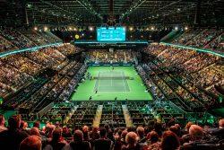 Event Locatie Ahoy Rotterdam tijdens ABNAMRO tennistoernooi_