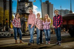 Familie Portret Leuvehaven Rotterdam-1