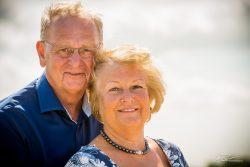 Familie Portret fotoshoot aan strand Rockanje-3