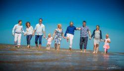 Familie Portret fotoshoot aan strand Rockanje-4