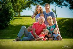 Familie Portret fotoshoot voor het huis-3