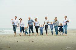 Familie Portret strand Hoek van Holland-1