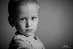 Familie Portret zoon zwartwit kind-4