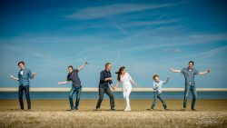 Familiefoto familiefoto op strand-1