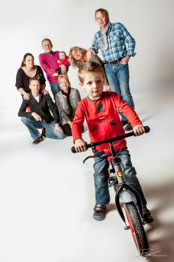 Family portrait kid on bike-1