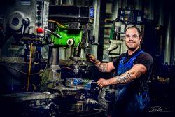 Industriëel fotograaf - Metaalwerker