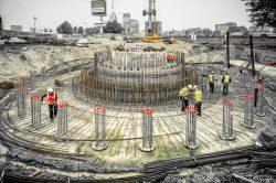 Industriele fotograaf - bouw Rotterdam Betonvlechten windturbine