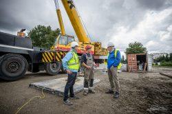 Industriele fotograaf - bouw windturbine Capelle ad Ijssel-2