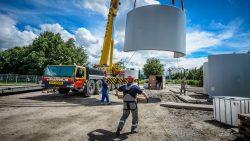 Industriele fotograaf - bouw windturbine Capelle ad Ijssel-8