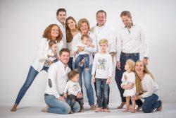 Particulier-familie portret studio met kleinkinderen-1