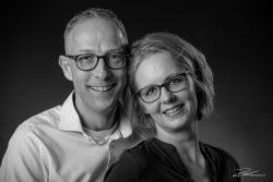 Particulier-familieportret Zwartwit in studio Rotterdam-2