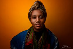 Portret Afrikaans Geel