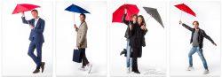 Reclamefotografie voor paraplu's