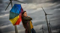 Reclame campagne voor een energieleverancier van groene stroom