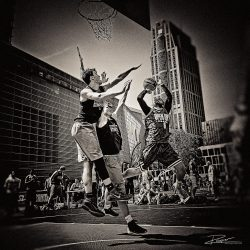 Fotoverslag Rotterdam Streetbasketball