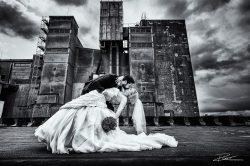 Trouwfotograaf bruidsreportage Rotterdam Maassilo-2