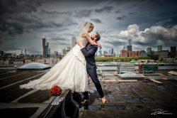 Trouwfotograaf bruidsreportage Rotterdam Maassilo-7