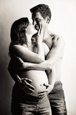 Zwangerschap fotoshoot studio-1