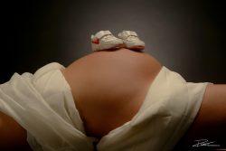 Zwangerschapsshoot in studio Verwachting-5