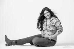 Zwangerschapsshoot in studio in ZW-2