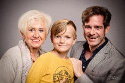 familieportret - 3 generaties