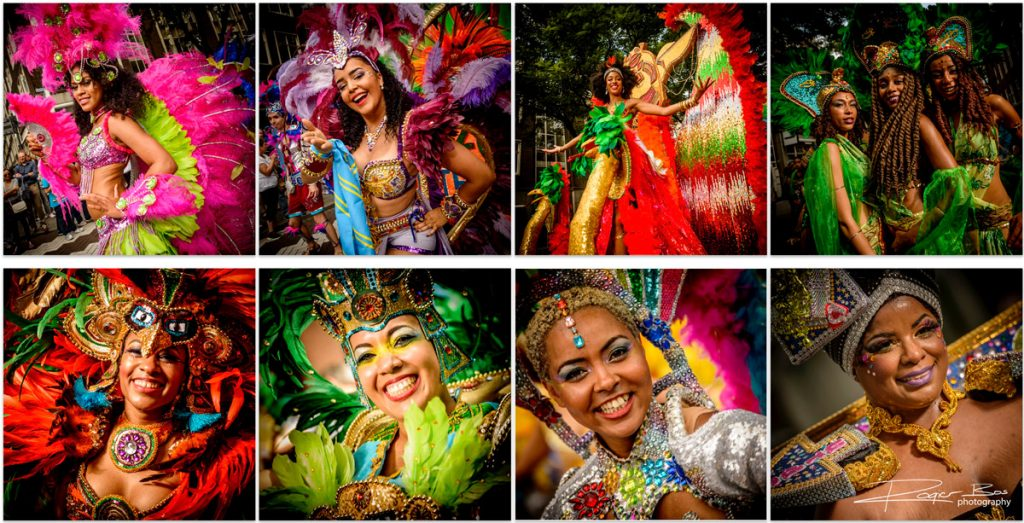 Fotografie project: straatparade Zomercarnaval 2016, Rotterdam.