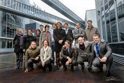 Groepsfoto conference team Rotterdam Van Nelle