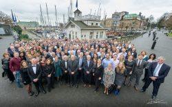 Groepsfoto team Veerehaven Rotterdam