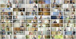 Voor deze opdrachtgever moesten alle medewerkers in alle kantoren (in Nederland en daarbuiten) in bannerformaat gefotografeerd worden. Op de achtergrond moest de sfeer van de kantoren terugkomen.