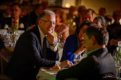Burgemeester Aboutaleb aan diner