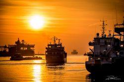 PortofRotterdam - haven Rotterdam zonsondergang-2
