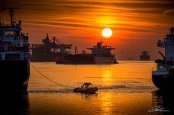 PortofRotterdam - haven Rotterdam zonsondergang-4