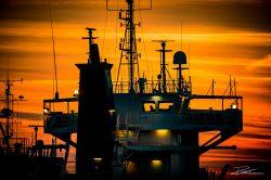 PortofRotterdam - haven Rotterdam zonsondergang-8