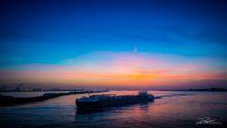 PortofRotterdam - haven Rotterdam zonsondergang-9