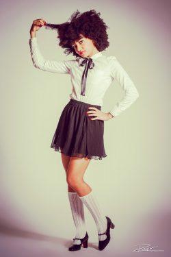 Portret van een 'Lolita' voor event agency
