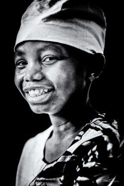 Portret studio kind Oeganda