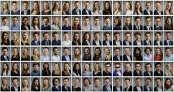 LinkedIn Portretten Studenten Erasmus