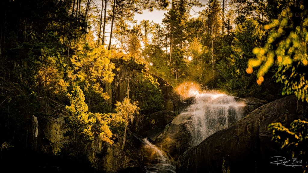 Squamish waterfall Canada