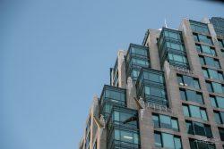Vancouver City of glass skyline architecture