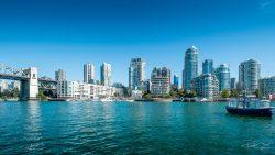 Vancouver City of glass skyline architecture-3