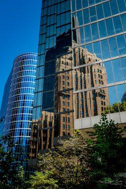 Vancouver City of glass skyline architecture-8