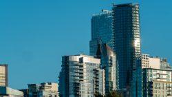 Vancouver City of glass skyline architecture-9