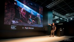 Photokina is a great time to hear photographer's talk about the best images they've taken.