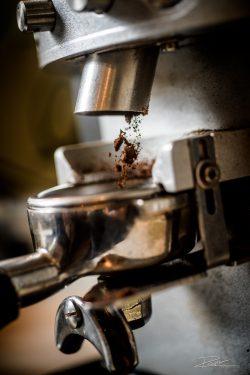 Vers gemalen koffie