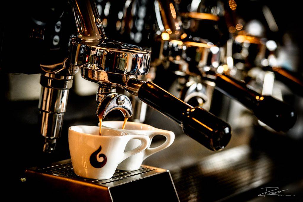 De koffie komt eraan!