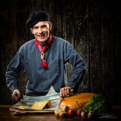 Portret van een Campanile Chef