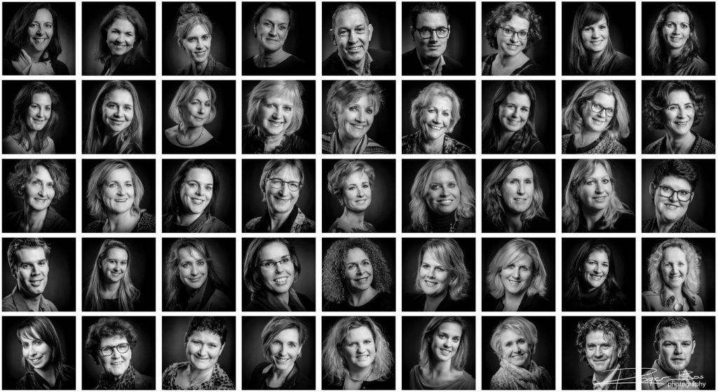 LinkedIn profielfoto's van bezoekers van De NBC Experience