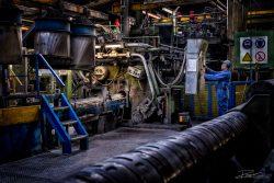 Overzicht van een aluminiumfabriek