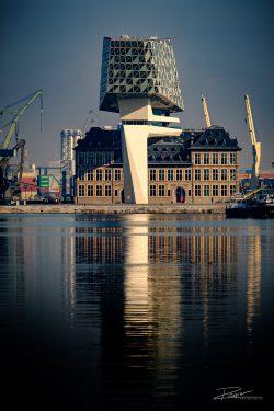 Architectuur Antwerpen - havengebouw