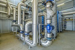Industriele fotografie: Warmtewisselaar in Poeldijk